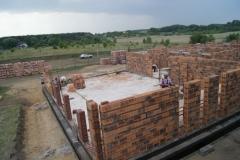 Budowa domu parafialnego i klasztoru