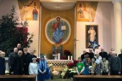 Kolędnicy Misyjni wdrodze 👣😇👣👼👣🎶 wzakonnym domu seniora Towarzystwa Chrystusowego wPuszczykowie