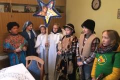 Kolędnicy Misyjni wdrodze... wyruszyli domieszkańców naszej parafii,