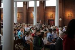 Młodzież z ŚDM w naszej parafii