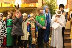 Msza św.Pasterska zudziałem dzieci ogodz.22.00.