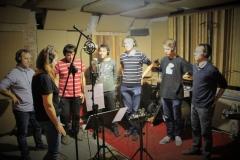 Nagrywanie pierwszej parafialnej płyty