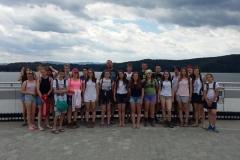 Obóz młodzieży w Bieszczadach