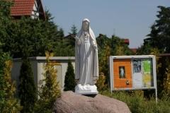 Poświęcenie figury Matki Bożej