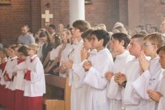 Przyjęcie ministrantów i lektorów