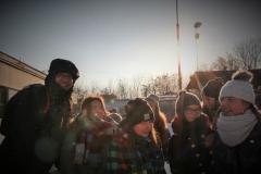 Schola Gimnazjalna na lodowisku