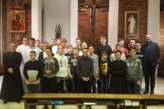 Spotkanie formacyjne lektorów z parafii chrystusowców