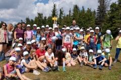 Wakacyjny obóz dzieci
