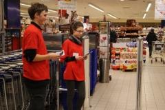 Zbiórka Żywności w Poznańskiej Plazie - Caritas